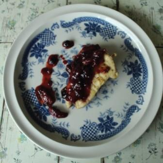 Chicken with Berries Compote Weightloss